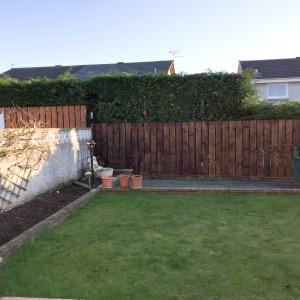 garden fence for mr ross pic 1