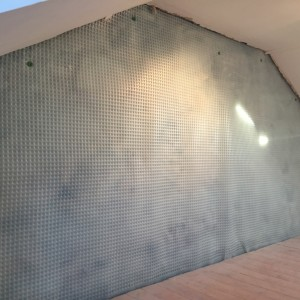 Waterproofing Membrane on wall