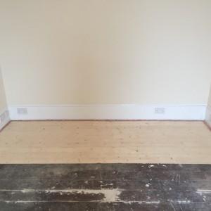 new floor at Scotstown