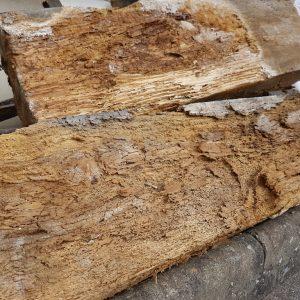 timber lintel decay