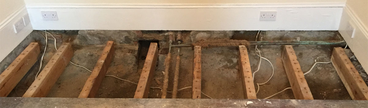 wetrot on joist ends