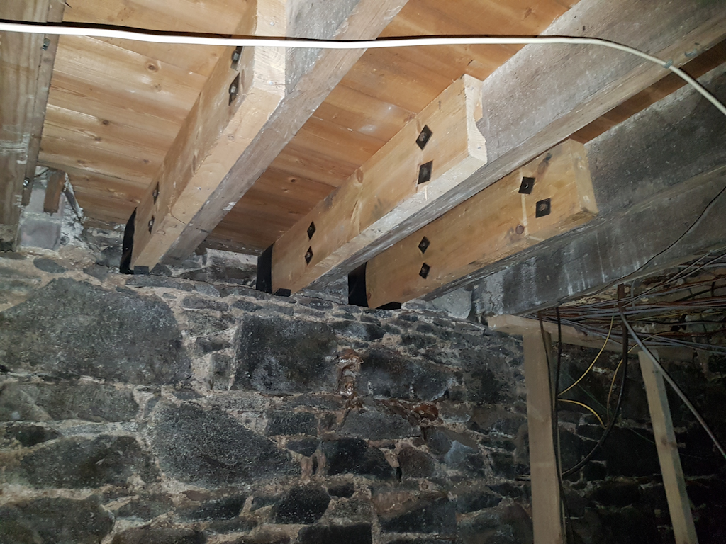 previous joist replacement work