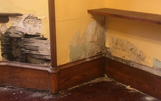 penetrating damp at westerton road, cults featured image
